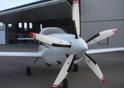 Lancair IV-P Garrett 1